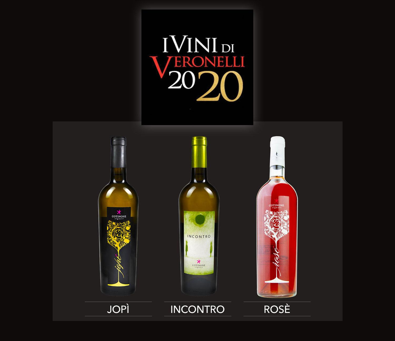 I vini Cotinone sulla Guida Oro Veronelli 2020